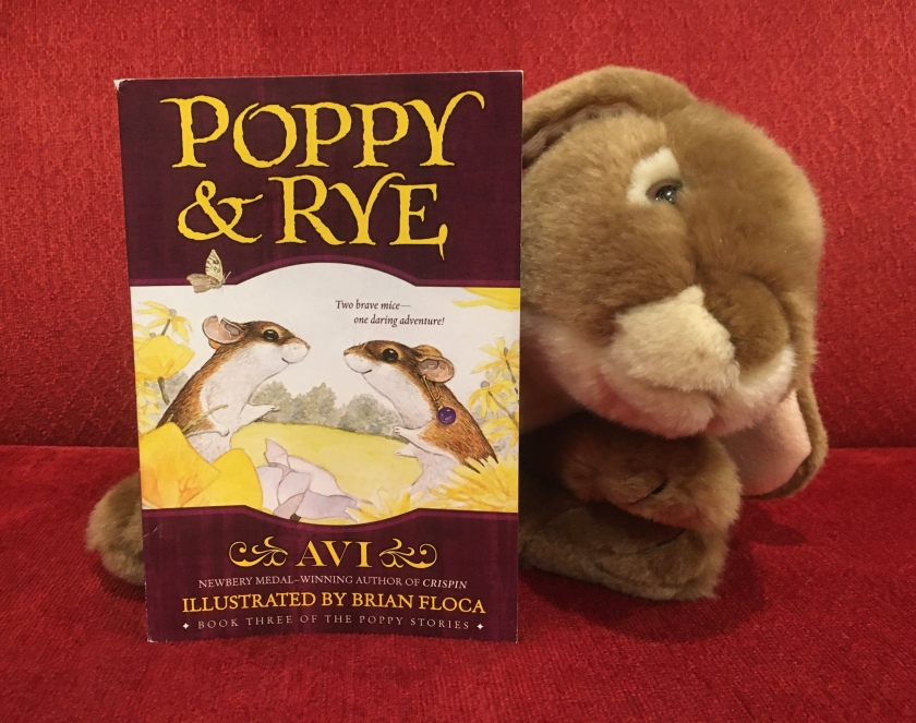 Caramel reviews Poppy and Rye, written by Avi and illustrated by Brian Floca.