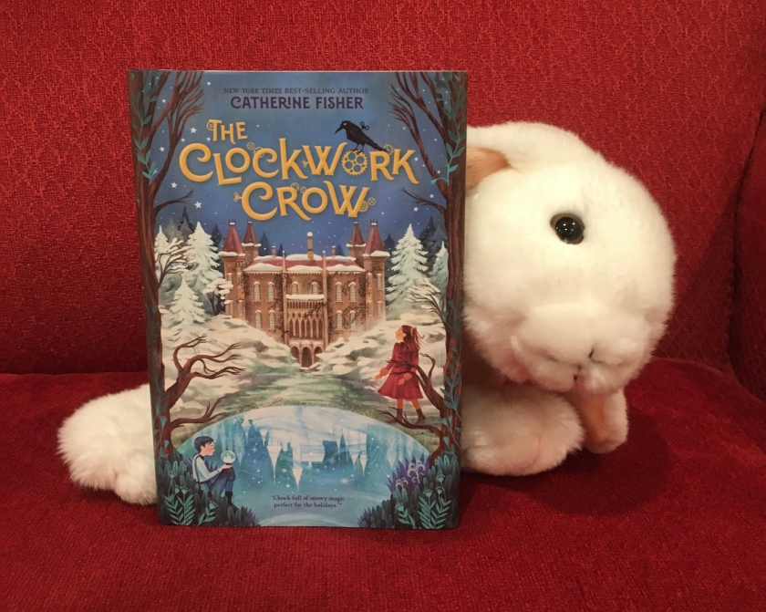 Marshmallow rates The Clockwork Crow by Catherine Fisher 100%.