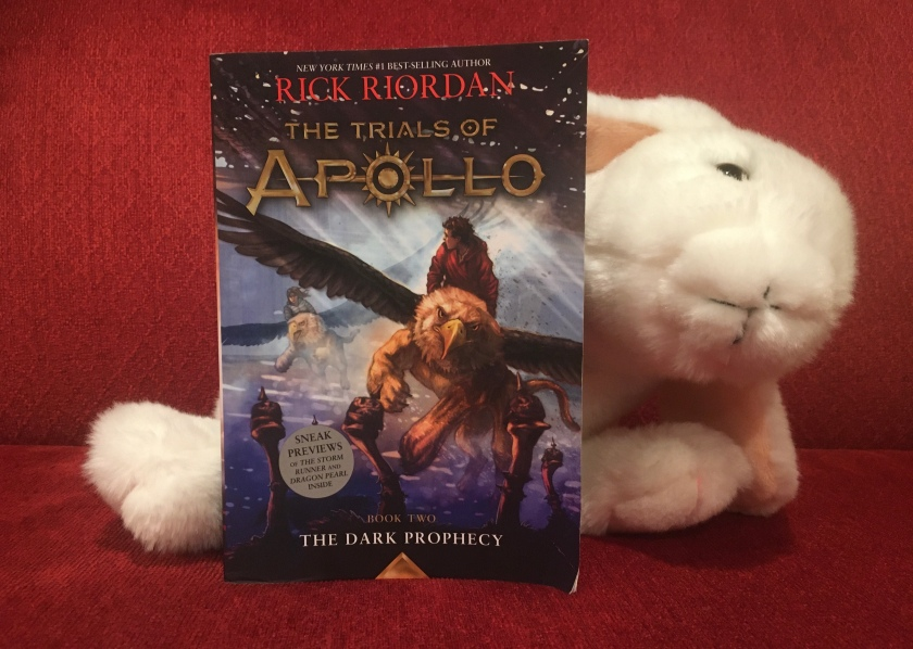 Marshmallow rates The Dark Prophecy (Book 2 of the Trials of Apollo Series) by Rick Riordan 100%.