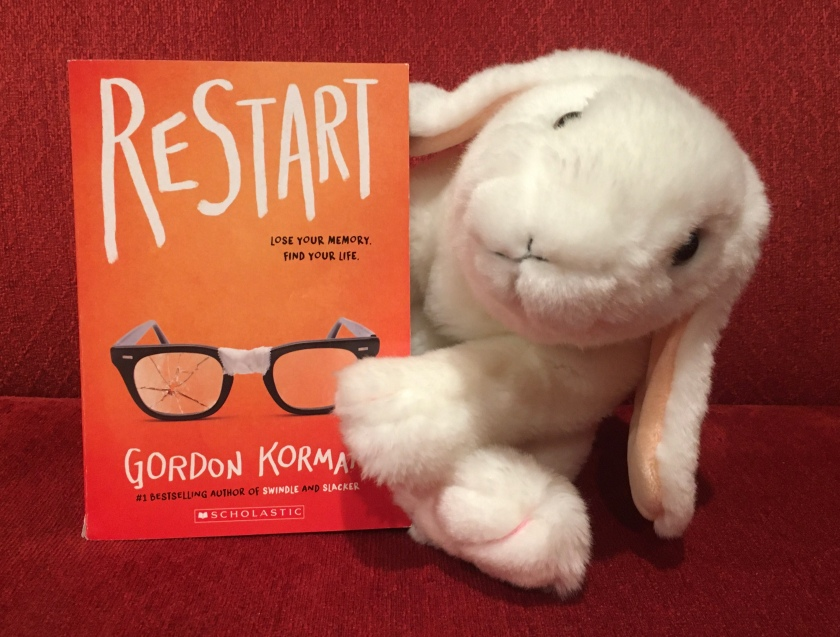 Marshmallow reviews Restart by Gordon Korman.