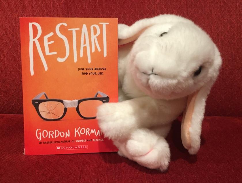 Marshmallow reviews Restart by Gordon Korman.