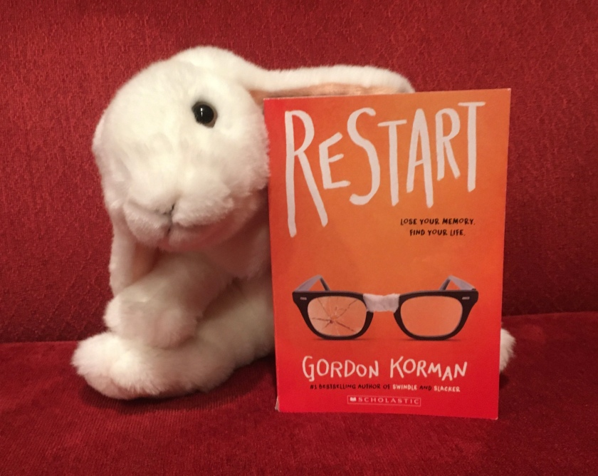 Marshmallow rates Restart by Gordon Korman 95%.
