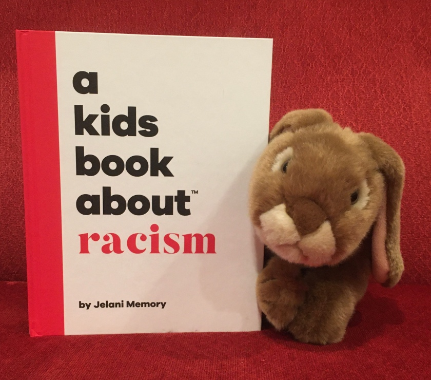 Caramel reviews A Kids Book About Racism by Jelani Memory.