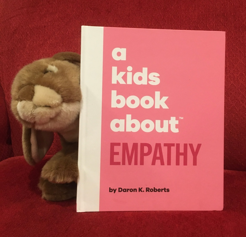 Caramel reviews A Kids Book About Empathy by Daron K. Roberts.