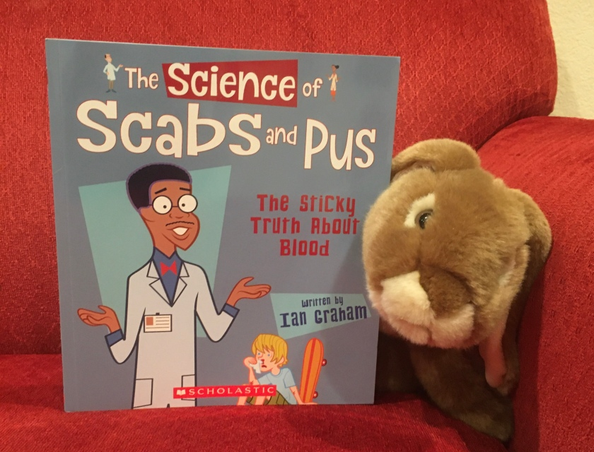 Caramel reviews The Science of Scabs and Pus: The Sticky Truth About Blood by Ian Graham.
