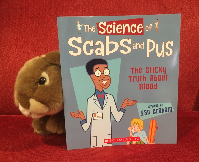 Caramel enjoyed reading The Science of Scabs and Pus: The Sticky Truth About Blood by Ian Graham, and is looking forward to reading the next book in the series.