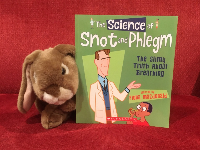 Caramel enjoyed reading The Science of Snot and Phlegm: The Slimy Truth about Breathing by Fiona MacDonald, and is looking forward to reading and reviewing the remaining books in the same series.