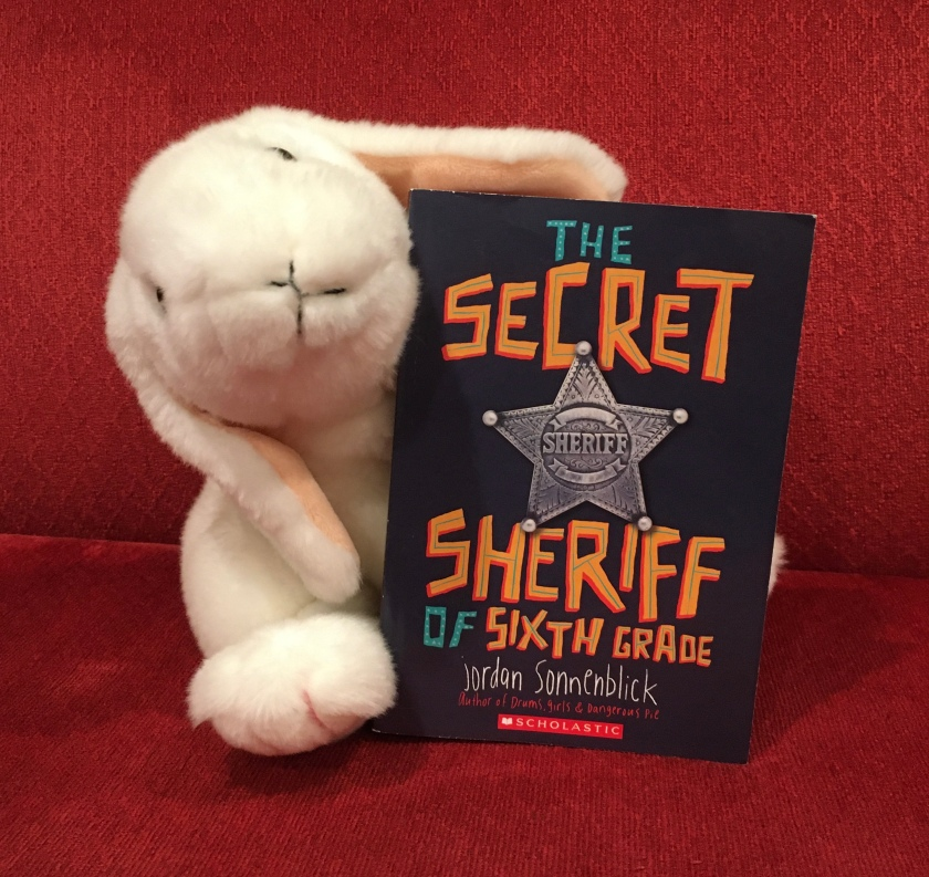 Marshmallow reviews The Secret Sheriff of Sixth Grade by Jordan Sonnenblick.