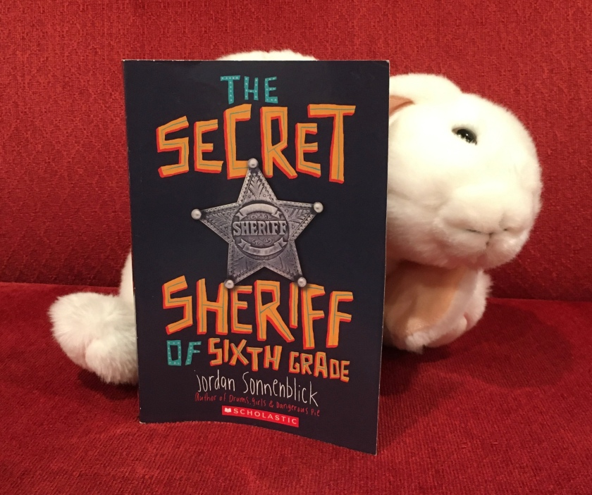 Marshmallow rates The Secret Sheriff of Sixth Grade by Jordan Sonnenblick 95%.