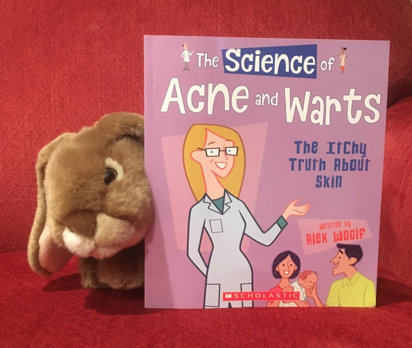 Caramel reviews The Science of Acne and Warts: The Itchy Truth About Skin by Alex Woolf.