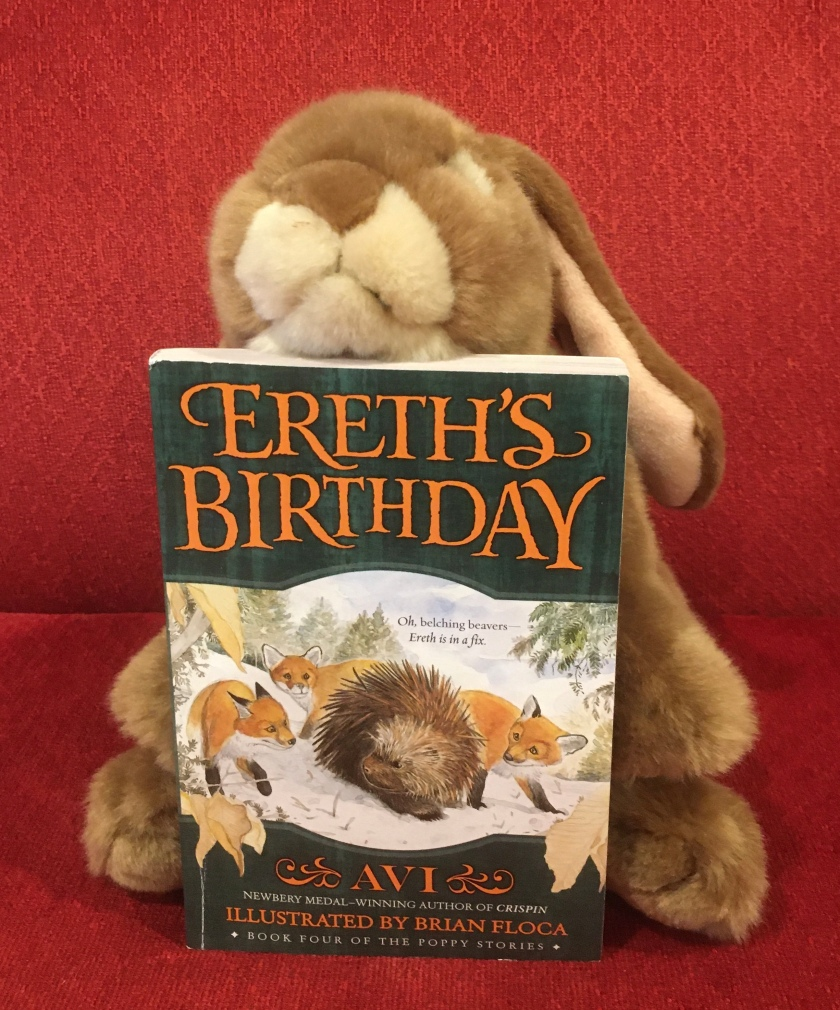 Caramel reviews Ereth's Birthday, written by Avi and illustrated by Brian Floca.