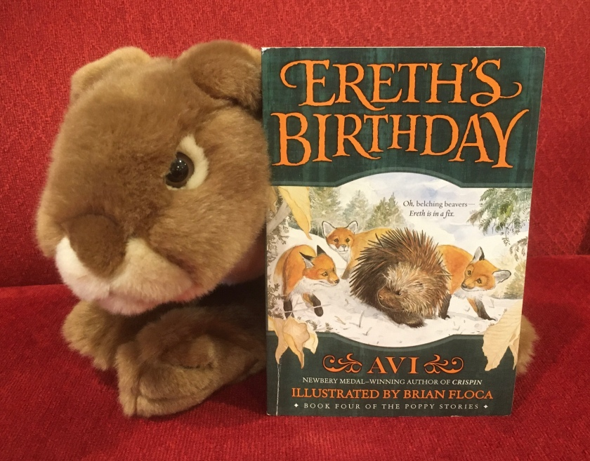 Caramel enjoyed reading Ereth's Birthday by Avi, and he is looking forward to reading the next books in the series.