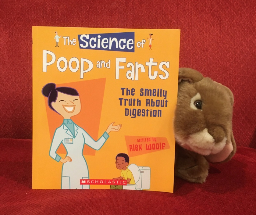 Caramel enjoyed reading The Science of Poop and Farts: The Smelly Truth About Digestion by Alex Woolf, and recommends it to other little bunnies who want to learn more about poop and fart and other funny (and yet very useful) things our digestive systems do.