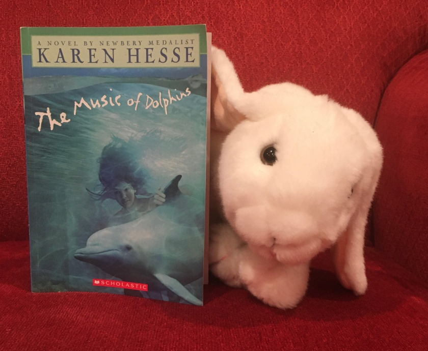 Marshmallow reviews The Music of Dolphins by Karen Hesse.
