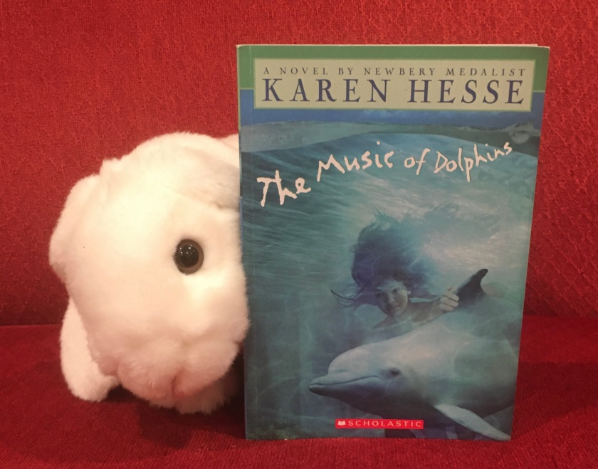 Marshmallow rates The Music of Dolphins by Karen Hesse 100%.
