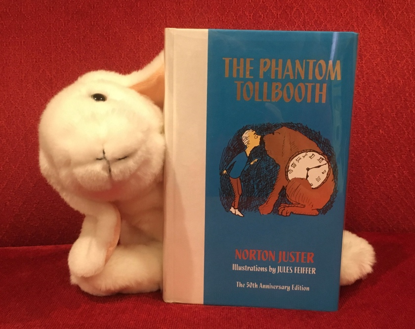 Marshmallow reviews The Phantom Tollbooth, written by Norton Juster and illustrated by Jules Feiffer.