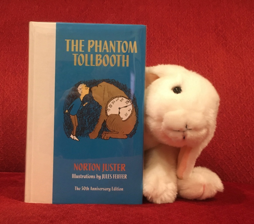 Marshmallow rates The Phantom Tollbooth, written by Norton Juster and illustrated by Jules Feiffer, 100%.