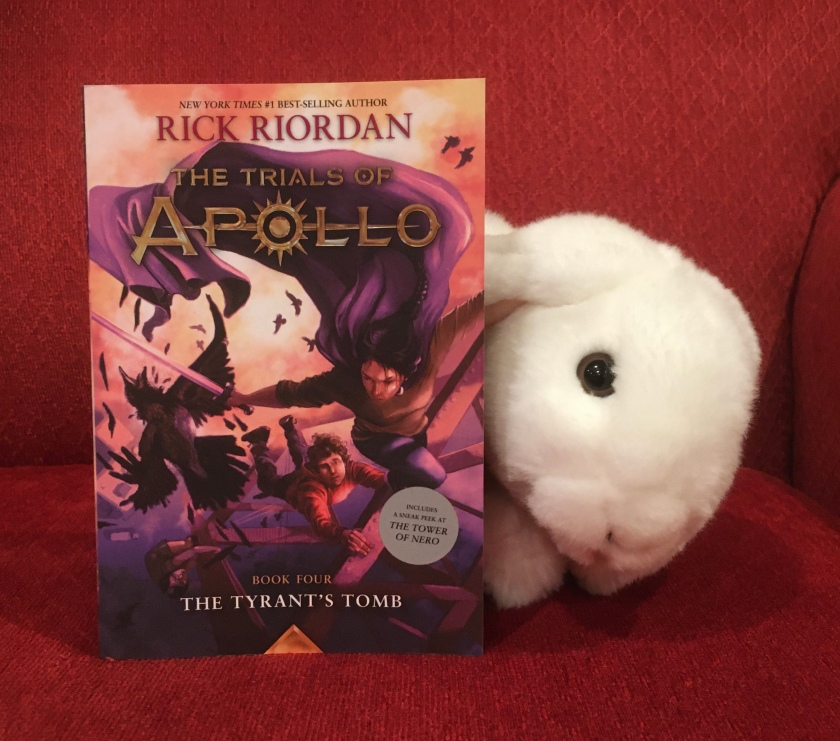 Marshmallow rates The Tyrant's Tomb (Book 4 of the Trials of Apollo series) by Rick Riordan 95%.