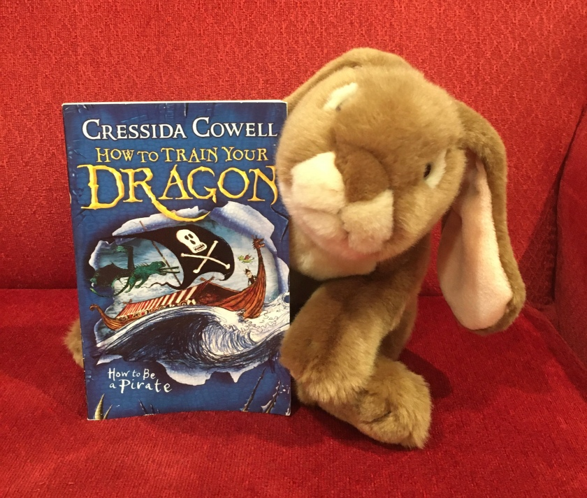 Caramel reviews How to Be A Pirate (Book #2 of How to Train Your Dragon Series) by Cressida Cowell.