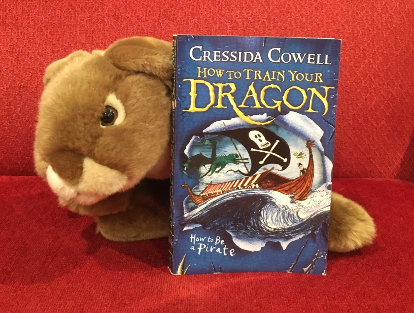 Caramel loved reading How to Be A Pirate (Book #2 of How to Train Your Dragon Series) by Cressida Cowell, and recommends it to all bunnies!