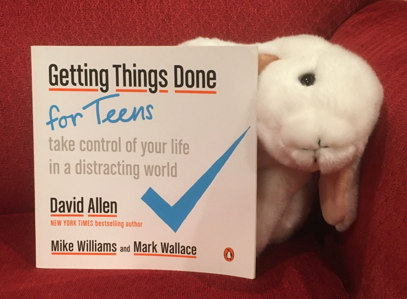 Marshmallow reviews Getting Things Done For Teens: Take Control of Your Life in a Distracting World, written by David Allen, Mike Williams, and Mark Wallace.