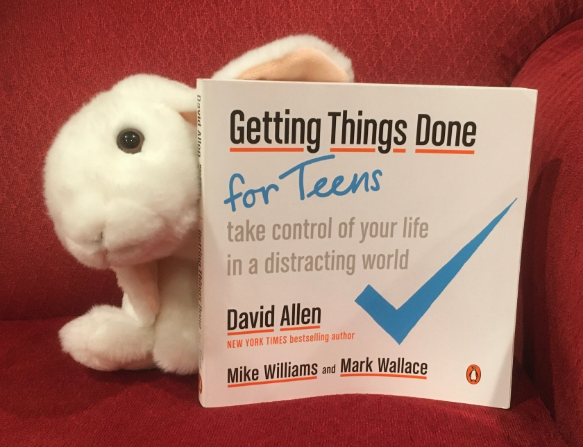 Marshmallow rated Getting Things Done For Teens: Take Control of Your Life in a Distracting World, written by David Allen, Mike Williams, and Mark Wallace 100%, and recommends it highly.