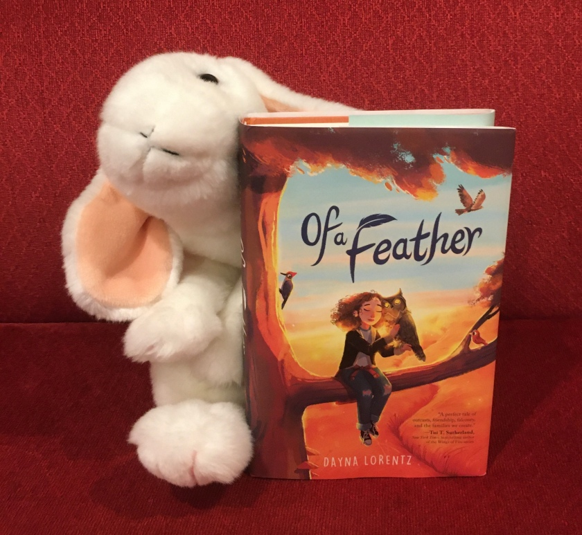 Marshmallow reviews Of A Feather by Dayna Lorentz.