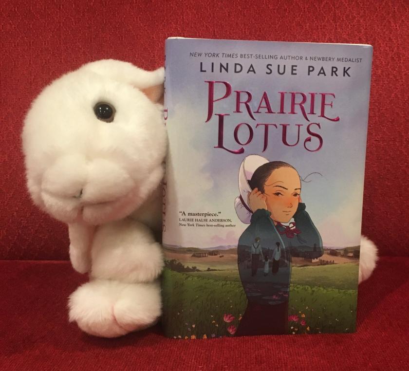 Marshmallow reviews Prairie Lotus by Linda Sue Park.