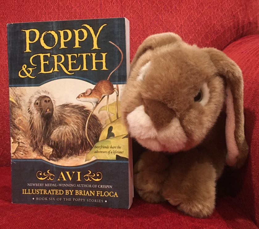 Caramel reviews Poppy and Ereth, written by Avi and illustrated by Brian Floca.