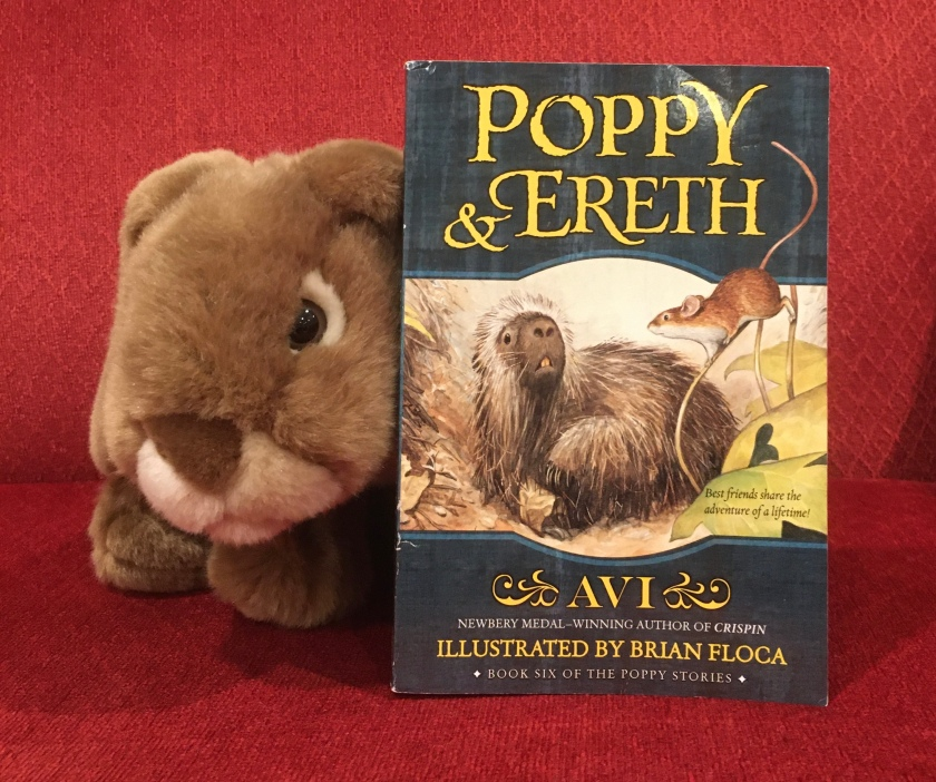 Having read Poppy and Ereth, written by Avi and illustrated by Brian Floca, Caramel will remember the series with a smile.