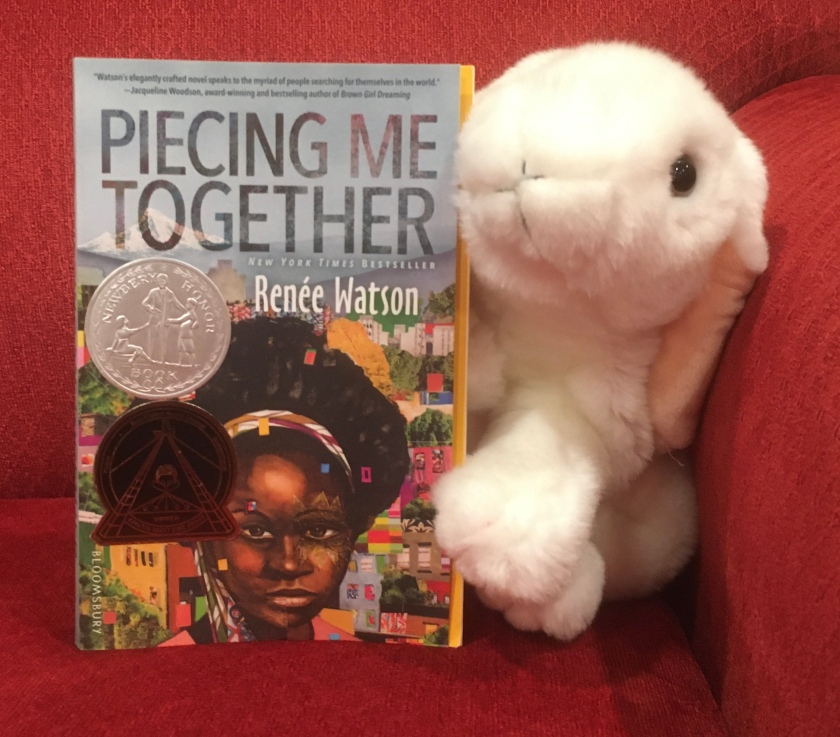 Marshmallow reviews Piecing Me Together by Renée Watson.