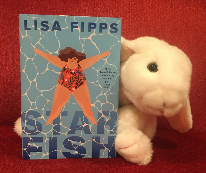 Marshmallow reviews Starfish by Lisa Fipps.