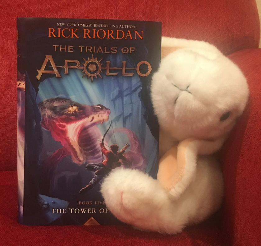 Marshmallow rates The Tower of Nero (Book 5 of the Trials of Apollo Series) by Rick Riordan 100%.