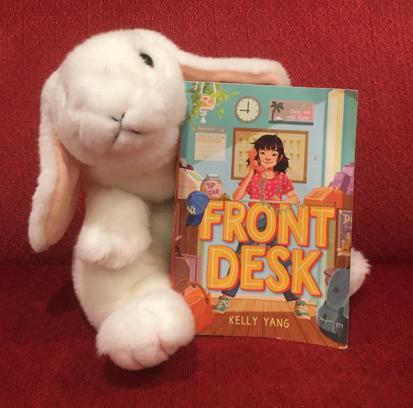 Marshmallow reviews Front Desk by Kelly Yang.