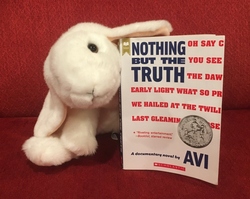 Marshmallow reviews Nothing But The Truth: a documentary novel by Avi.