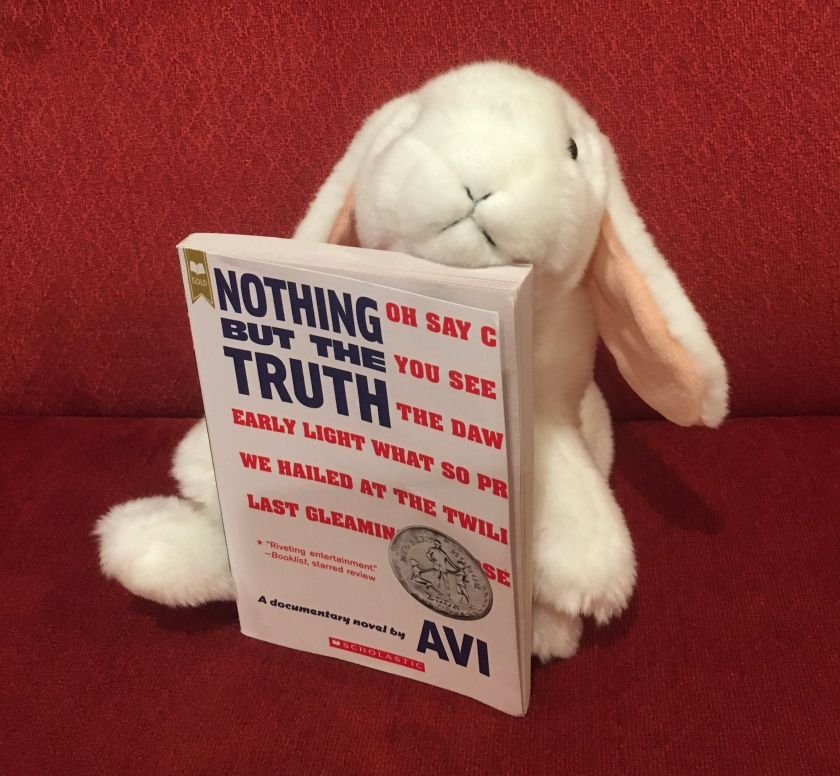 Marshmallow rates Nothing But The Truth by Avi 95%.