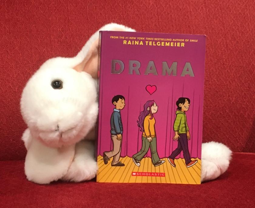 Marshmallow rates Drama by Raina Telgemeier 95%.