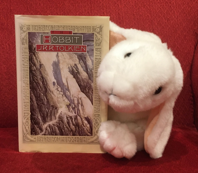Marshmallow reviews The Hobbit by J.R.R. Tolkien.