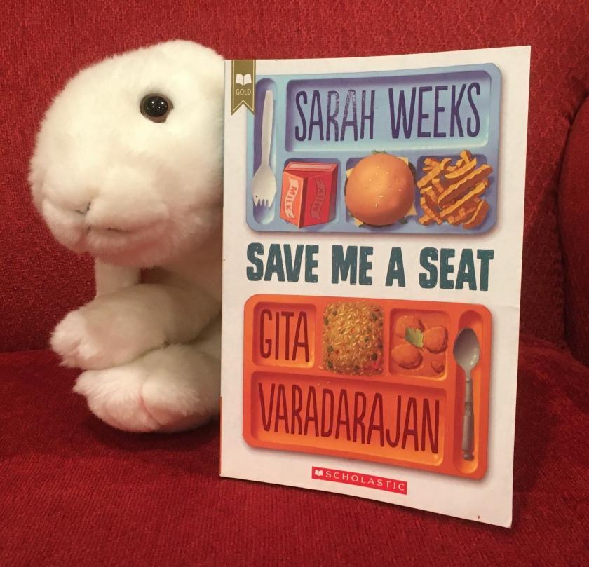 Marshmallow reviews Save Me A Seat by Sarah Weeks and Gita Varadarajan.