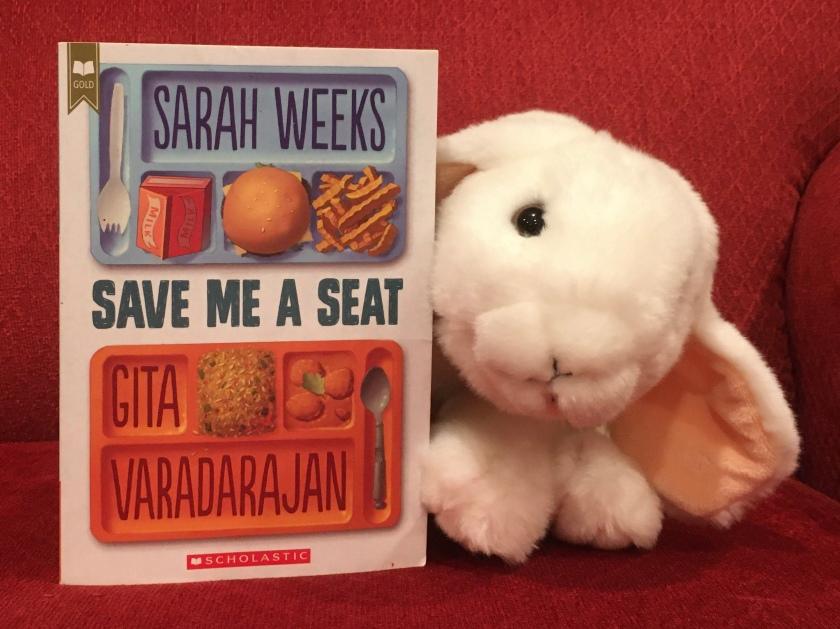 Marshmallow rates Save Me A Seat by Sarah Weeks and Gita Varadarajan 95%.
