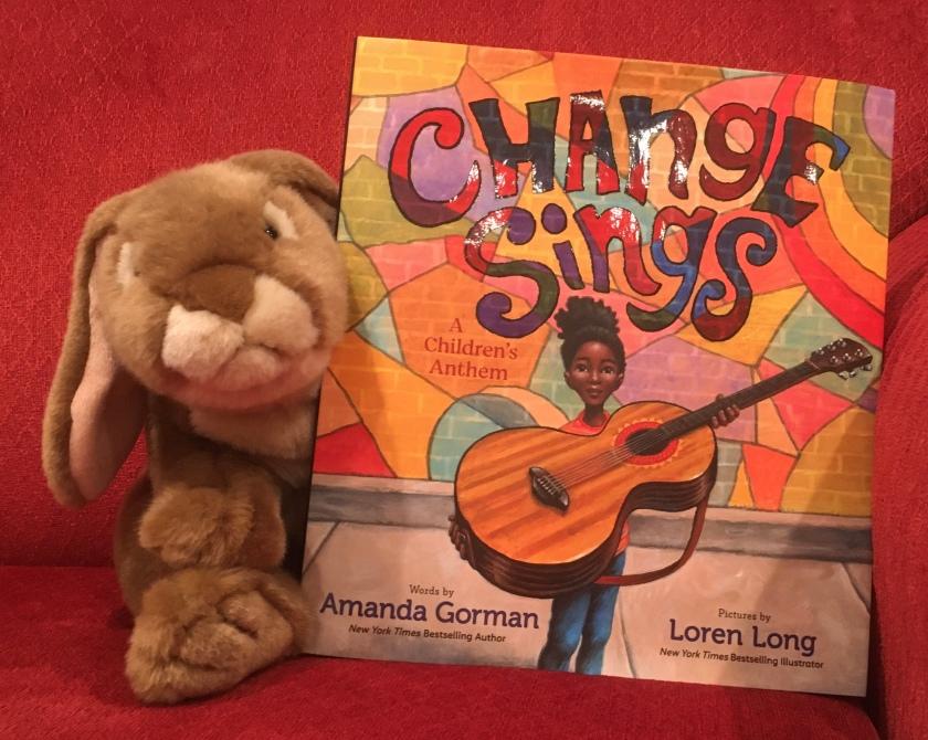 Caramel reviews Change Sings: A Children's Anthem, written by poet Amanda Gorman and illustrated by Loren Long.