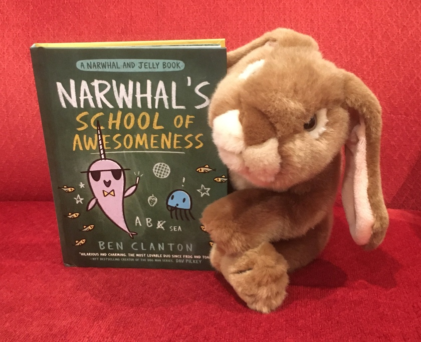 Caramel reviews Narwhal's School of Awesomeness by Ben Clanton.