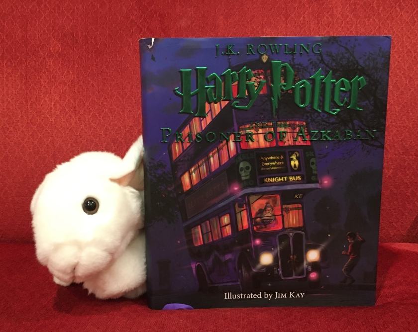 Marshmallow reviews Harry Potter and the Prisoner of Azkaban, written by J.K.Rowling and illustrated by Jim Kay.